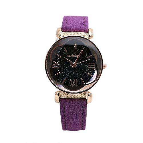 Christmas Best Gift!!!!Kacowpper Fashion Men's Women's Classic Casual Quartz Watch Leather Watches from Kacowpper Christmas