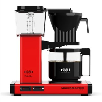 Technivorm Moccamaster Kbg 59636 Coffee Brewer, Red