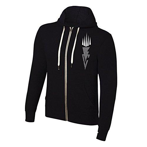 WWE Authentic Wear WWE Finn Bálor Resurrection Lightweight Hoodie Sweatshirt Black 2XL by WWE Authentic Wear
