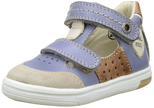 Noël 5Y045542B, Zapatillas de Primeros Pasos Bebés Multicolor (Jean)