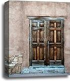 barewalls Wooden Door Gallery Wrapped Canvas Art (20in. x 16in.)
