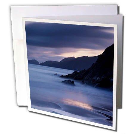 Slea Head - 3dRose Danita Delimont - Coastlines - Coastline of Dingle Peninsula at Slea Head, County Kerry, Ireland - 6 Greeting Cards with envelopes (gc_257699_1)