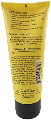 Naked Bee Orange Blossom Hand Body Lotion 6.7 oz. and 2.25 oz. Bundle with Ultra-Rich Body Butter