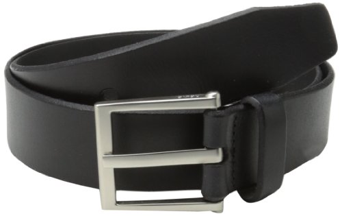 Fossil Leather Genuine Belt (Relic Men's Mayfield Etched Buckle 38Mm Belt, Black,)
