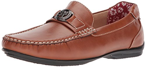 Moc Stacy on Driving Loafer Toe Men's Bit Slip Adams Style Tan Cyrus rBCwtrq