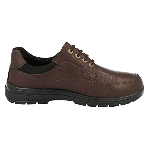 Padders Terrain, Scarpe Stringate Oxford Uomo Marrone (Browns)