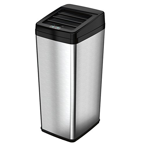 iTouchless Sliding Lid Automatic Touchless Stainless product image
