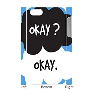 3D Bumper Plastic Case Of Okay Okay customized case For Iphone 4/4s