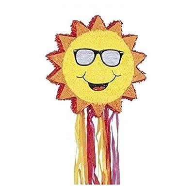 Pinata soleil taille : 53 cm