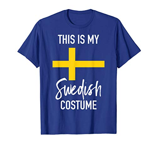 This is my Swedish Costume T-Shirt - Funny Halloween Tee ()