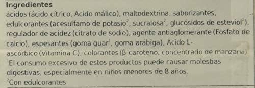 Bolero Bebida Instantánea sin Azúcar, Sabor Pera - Paquete de 24 x 9 gr - Total: 216 gr: Amazon.es: Salud y cuidado personal