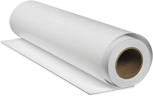 Adventa QuickPro 61 cm x 30 m Takes 610mm or 24 Print Lienzo de poli/éster Blanco