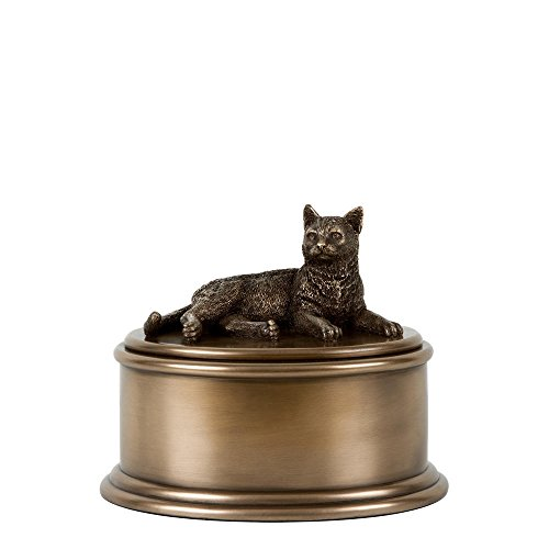 Perfect Memorials Short Hair Cat Figurine Cremation Urn by Perfect Memorials