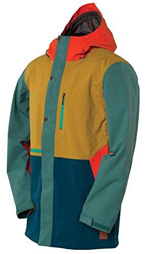 Bonfire Bagby Snowboard Jacket Mens SZ L by Bonfire