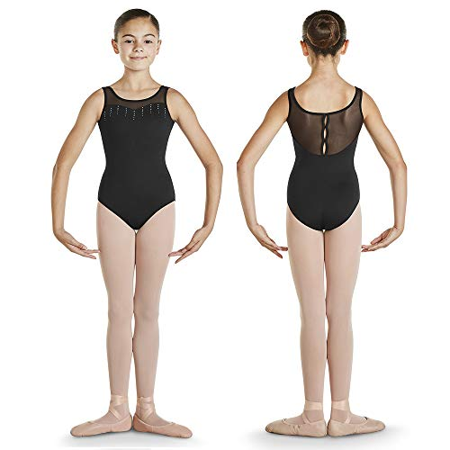 Bloch CL4835 Girl's Tank Leotard (6x7, Black) (Bloch Tank Leotard)