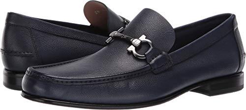 Salvatore Ferragamo Men's Fiordi Loafer Navy 7 EE US