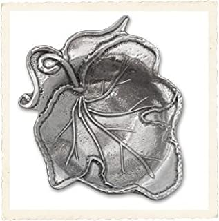 product image for Crosby & Taylor Handcrafted Pewter Tea Bag Holder, Vineyard