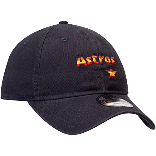 New Era Men's Houston Astros Navy Cooperstown Collection Core Classic Replica 9TWENTY Adjustable Hat
