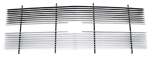 TRex Grilles 20030 Horizontal Aluminum Polished Finish Billet Grille Insert for Chevrolet Pickup Suburban Tahoe