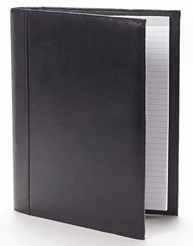 Tuscan Open Padfolio in Black Customize: Yes