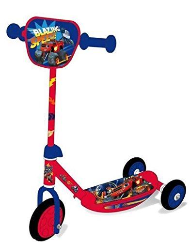 Blaze y los Monster Machines - Patinete infantil 3 ruedas ...