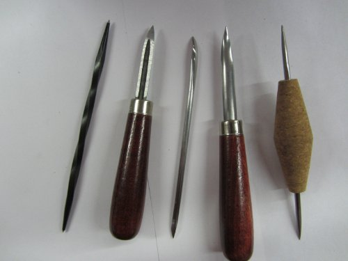 5pc Etching Intaglio Graphic Art Scribing Printmaking Tool Set by UJ Ramelson Co
