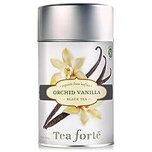 Tea Forte ORCHID VANILLA Loose Leaf Black Tea, 3.5 Ounce Tea Tin