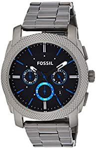 Fossil Mens Quartz Watch, Chronograph Display and Stainless Steel Strap FS4931