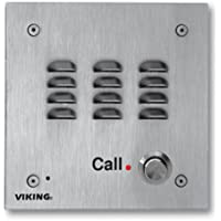 Viking Electronics E-30 Stainless Steel Hansdsfree Speaker Phone with Dialer