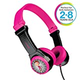 JLAB JBuddies Folding Kids Wired Headphones | Toddler Headphones | Noise Isolation | Kids Safe | Volume Limiting Headphones | Headphones for Children | Gray/Blue