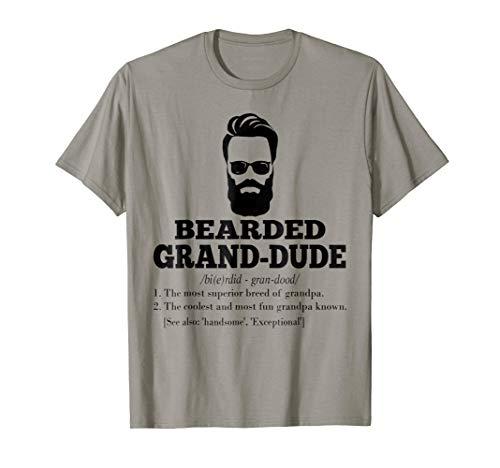 Mens Bearded GRAND-DUDE Tshirt ()