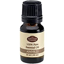 Amyris 100% Pure, Undiluted Essential Oil Therapeutic Grade - 10 ml. Great for Aromatherapy!
