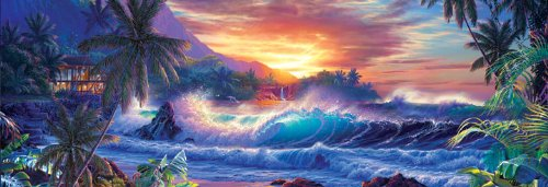 MasterPieces Panoramic Collection Window to Eternity Jigsaw Puzzle, 1000-Piece