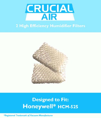 2 High Quality Honeywell HCM-525 Humidifier Replacement W...