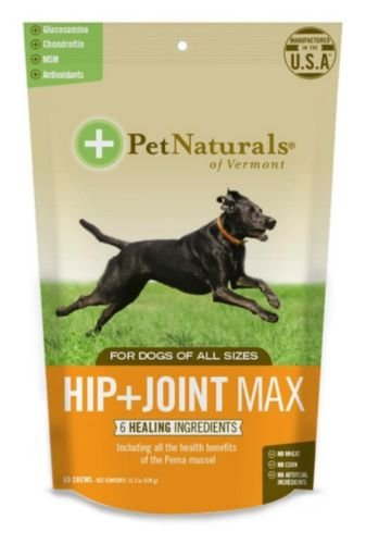 Chewable Tablets 25 Mg 60 (Pet Naturals Hip + Joint Max for Dogs - 60 Chews)