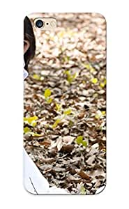 Freshmilk Brand New Defender Case For Iphone 6 Plus (brunees Teen Outdoors Asians White Dress Kneeling Lan Hands On Head Maria Le Thanh Lan ) / Christmas's Gift