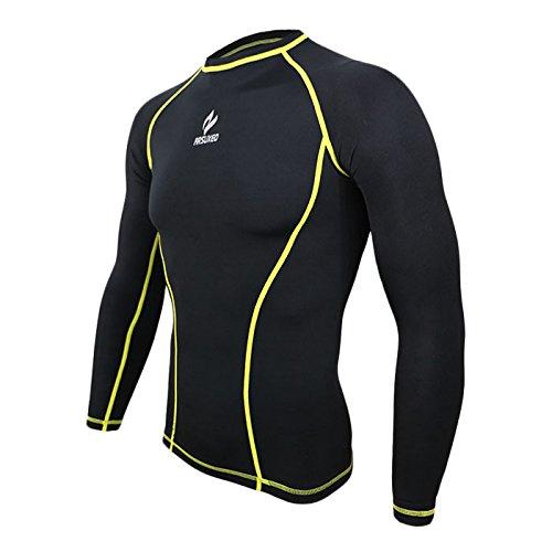 Manches Printemps Courir Compression Tissu vêtements Line Vêtement Respiration Rapide Male De Sport Séchage Cyclisme Tofern Longues amp;grey Sous Confortable Pantalon Automne Basket Black 6dvgq60w