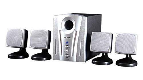 26ff8b27b1c Amazon.in  Buy Intex IT-2600 SB Computer Multimedia Speaker 4.1 Online at  Low Prices in India