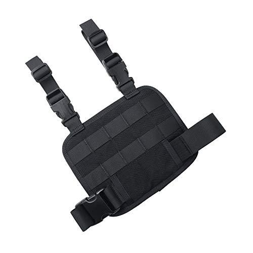 EXCELLENT ELITE SPANKER Tactical MOLLE Adjustable Detachable Holster Drop Leg Platform(Black)