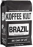 Koffee Kult Brazil Whole Bean Coffee Artisan Roasted (16oz Whole Bean) Review