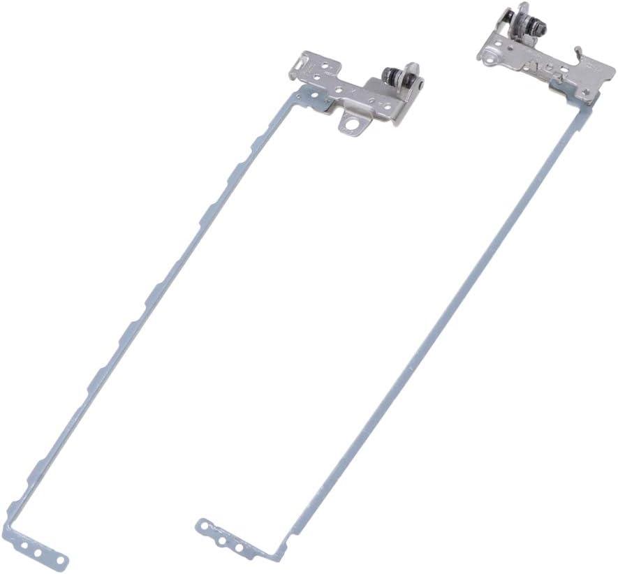 B Baosity Reemplazo De Bisagras LCD para HP 250-G6 255-G6 15-BS 15-BW Serie Laptop AM204000500 AM20400060