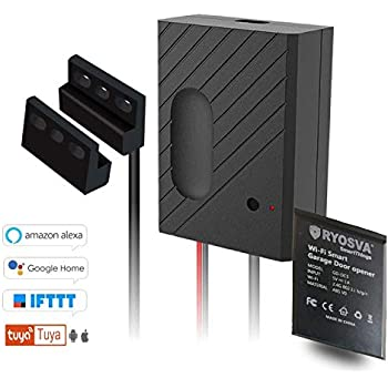 Ryosva Wireless Smart Home Garage Door Opener Wifi Remote