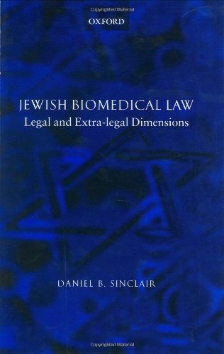 Jewish Biomedical Law: Legal and Extra-legal Dimensions