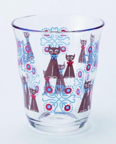 Cats Glass Tumbler 230ml from Japan GLTUCA