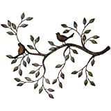 24 in Branches w/ Birds Decorative Metal Wall Sculpture Product SKU: HD229165