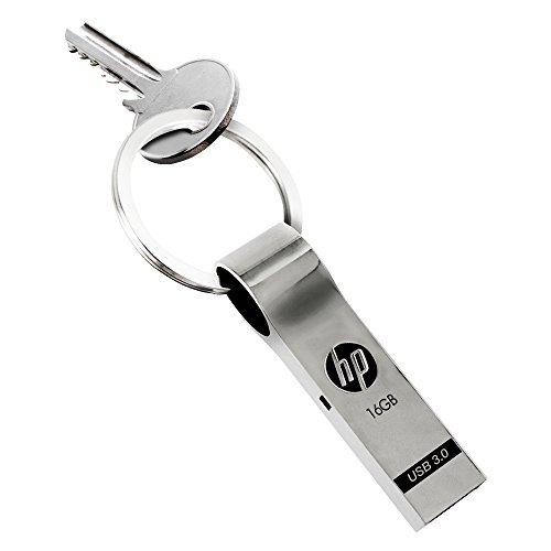 HP 16GB USB 3.0 Metal Key Ring Design Flash ()