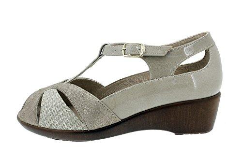 Femme Visón Confort 180160 Semelle PieSanto à Chaussure Amovible Sandales Cosmo wYRxSv