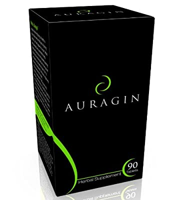 Auragin: Authentic Korean Red Ginseng – Made in Korea – 6 Year Roots, 8% Ginsenosides – No Additives or Other Ingredients – 100% Panax Red Ginseng in Every Tablet