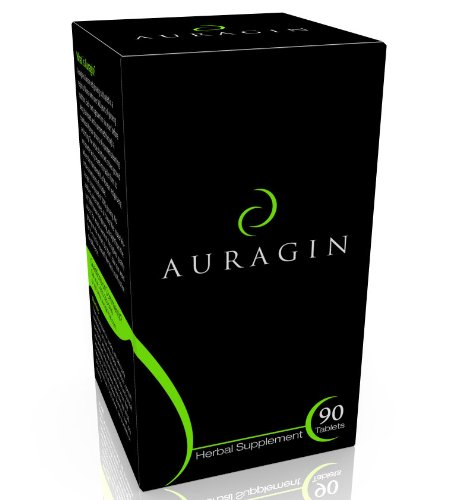 Auragin® Authentic Korean Red Ginseng – Made in Korea – 6 Year Roots – No Additives or Other Ingredients – 100% Red…