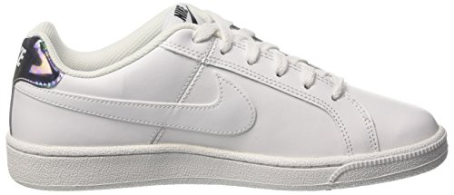 Bianco Scarpe Silver Donna Sportive Metallic White Royale Court Nike Bianche RnqPpgY